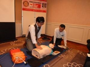 普通救命AED講習