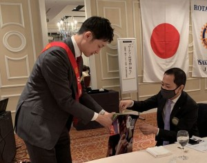 201104ポリオ募金 戸田様IMG_6056