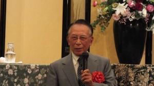 140611創立15周年 野田一夫先生