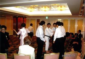 050 2008-5.21 社会奉仕(少林寺拳法防犯に役立つ護身術)